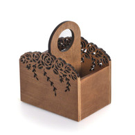 Wooden Remote control / controller TV Guide / mail organizer / caddy / holder,Free Cosmos Cable Cherry