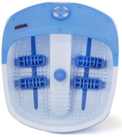 All in one foot spa bath massager with heat, HF vibration, and bubbles FB38BC