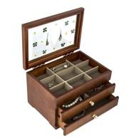 Wood Jewelry Box Case SI-AH-003