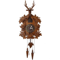 Kendal Handcrafted Wood Cuckoo Clock MX015-2