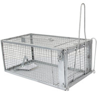 Rat Trap - Humane Live Animal Cage For Rat Mouse Hamster Mole Weasel Gopher chipmunk squirrels and More Rodents SI-KM002