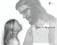 This makes a very special gift for a boy or girl. Jesus Whispered a very unique message to help inspire and give direction to the young people looking for inspiration to have faith in themselves to go after their dreams.  Have us put your childs picture with this gift in place of the girl you see. Get it on a blanket or canvas print.