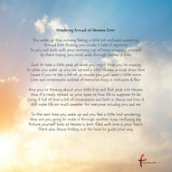 Knocking on Heavens Door is it in your future ? Take a moment to read this beautifully written gift and get one for your home , for a friend or family member to help inspire them to live the life they are dreaming of.