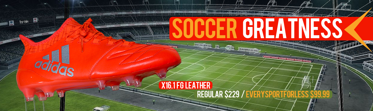 Adidas 16.1 FG Leather Soccer Cleats for $99