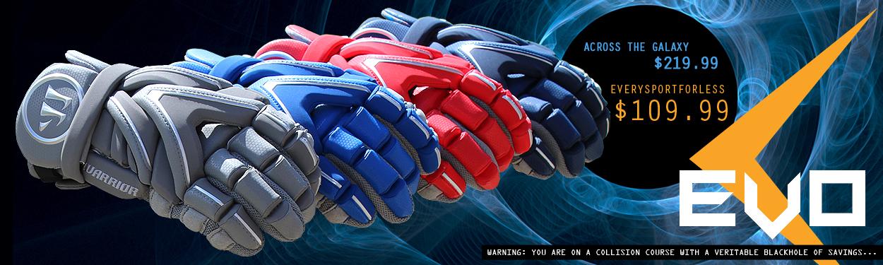 Warrior Evo Lacrosse Gloves $109.99