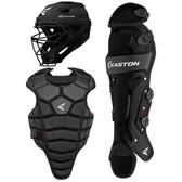 Easton M5 Qwikfit Junior Youth Baseball Catchers Set -Black/Black