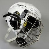 Bauer Hockey RE-AKT 75 Helmet with Cage - White