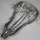 Brine Mantra III Women's Strung Lacrosse Head - Silver and White