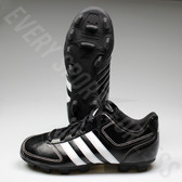 Adidas Tater TPU 4k Youth/Junior Baseball Cleats G66359 - Black and White