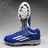 Adidas Power Alley 3 TPU Baseball Cleat S84752 - Royal/White/Grey