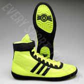 Adidas Combat Speed 4 Wrestling Shoe S77933 -Solar Yellow/Black