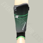 Champro D1 Soccer Shinguards - Black/Green