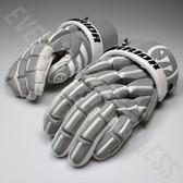 """Warrior Regulator 2 Reflect Senior Lacrosse Gloves 13"""" - Silver"""