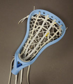 Brine A1 Women's/Girls Lacrosse Strung Head - Carolina Blue