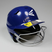 Easton Z5 Senior Batting Helmet with Mask - Royal