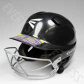 Easton Z5 Senior Batting Helmet with Mask - Black