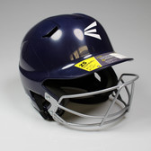 Easton Z5 Senior Batting Helmet with Mask - Navy