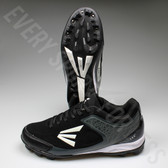 Easton 360 Senior Baseball Cleats - Black/Charcoal