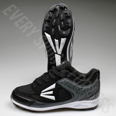 Easton 360 Youth Baseball Cleats - Black/Charcoal