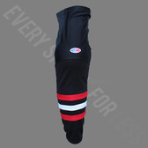 Athletic Knit HS2100 Style 614 Chicago 3rd Polyester Hockey Socks - Multiple Sizes