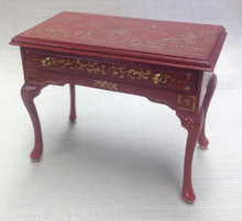 Single Drawer Chinoiserie Table
