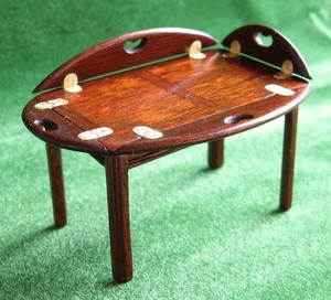 Butlers Tray Coffee Table Michael Walton Miniatures