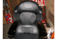 Customer Touring Motorcycle Installed picture: Detachable Rider Backrest Kit: Rider backrest pad, Mounting Bracket