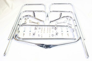 Chrome Twin Rail Saddlebag Guard Kits
