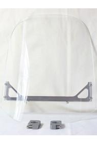 """14"""" x 14"""" Acrylic Plastic Motorcycle Windscreen"""