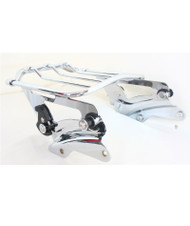 Detachable Air Wing 2-up Luggage Rack with Four Point Docking Hardware Kit for Touring 2014 and Later