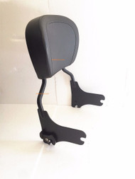 Flat Black Detachable Backrest Sissy Bar HD 1997 1998 1999 2000 2001 2002 2003 2004 2005 2006 2007 2008 Harley-Davidson Electra Glide Road Glide Road King