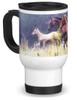 Morning Gallop Horse Travel Mug