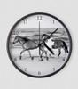 Horses on the Beach Wall Clock