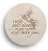 Inspirational Equestrian Sandstone Coaster