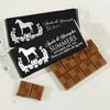 Equestrian Wedding Chocolate Bar Favors