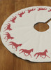 Trotting Horse Christmas Tree Skirt