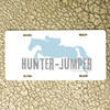 Hunter Jumper Horse Vanity License Plate