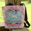 Crazy Horse Girl Equestrian Tote Bag