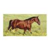 Bay Horse Equestrian Beach Towel