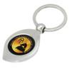 Akhal-Teke Horse Logo Metal Key Ring