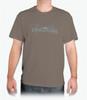 Grunge Fly Fishing Adult T-Shirt