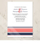 Modern Stripes Wedding Invitation (10 pk)