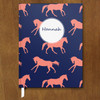 Custom Equestrian Galloping Horses Diary or Journal