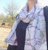 Horses All Over Equestrian Scarf