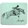 Hunter jumper themed customized mousepad