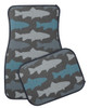 Trout Fishing Themed Car Floor Mats