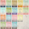 Bohemian Wedding Photo Save The Date Postcards (25 pk)