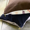 Horse Bits Plaid Pattern Dog Bed