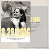 Yellow and Grey Photo Card Save The Date