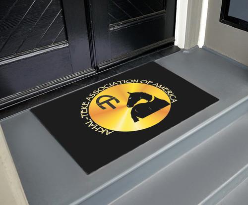 Akhal-Teke Logo Door Mat